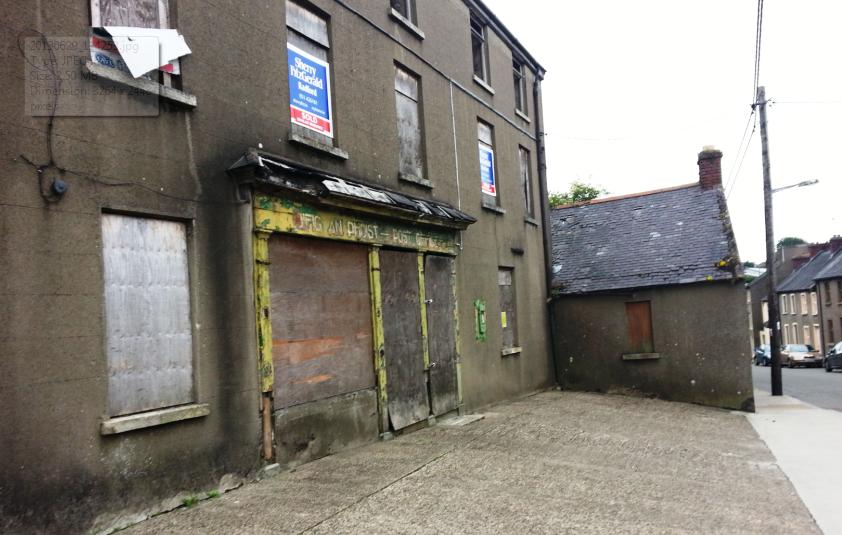 Abandoned post office, irishtown, new ross