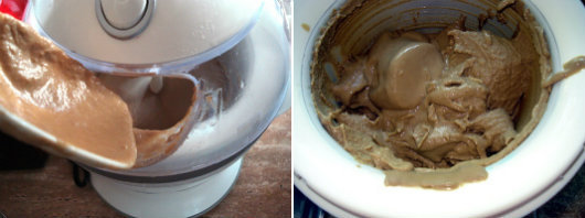 Coffee ice cream by Laka kuharica: Pour the mixture into an ice cream machine
