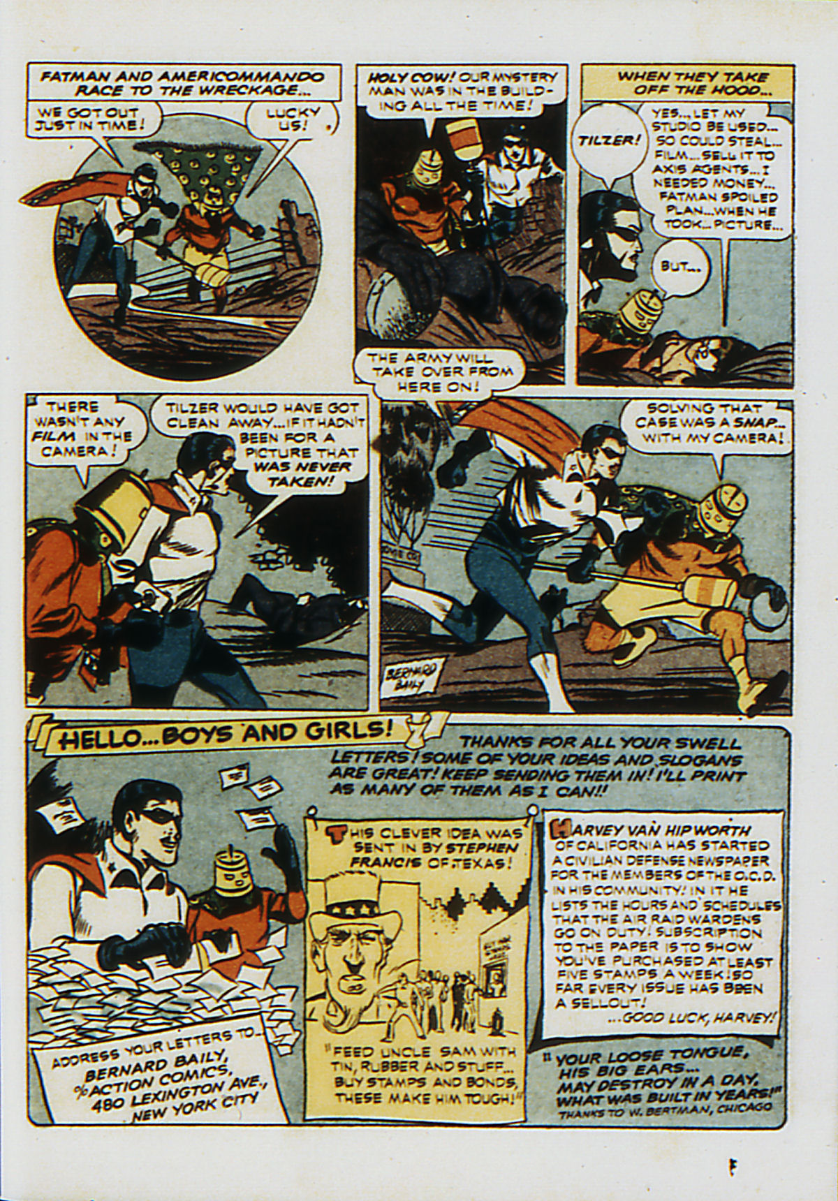 Read online Action Comics (1938) comic -  Issue #53 - 46