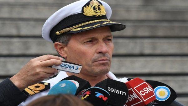 Armada argentina condena informe filtrado sobre el Ara San Juan