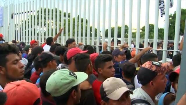 Mentiras y amenazas de Trump sobre la caravana de migrantes