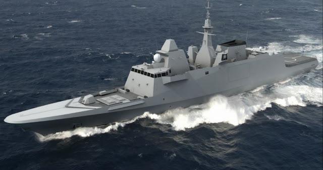 Δύο γαλλικές φρεγάτες τύπου FREMM στο Ελληνικό Πολεμικό Ναυτικό
