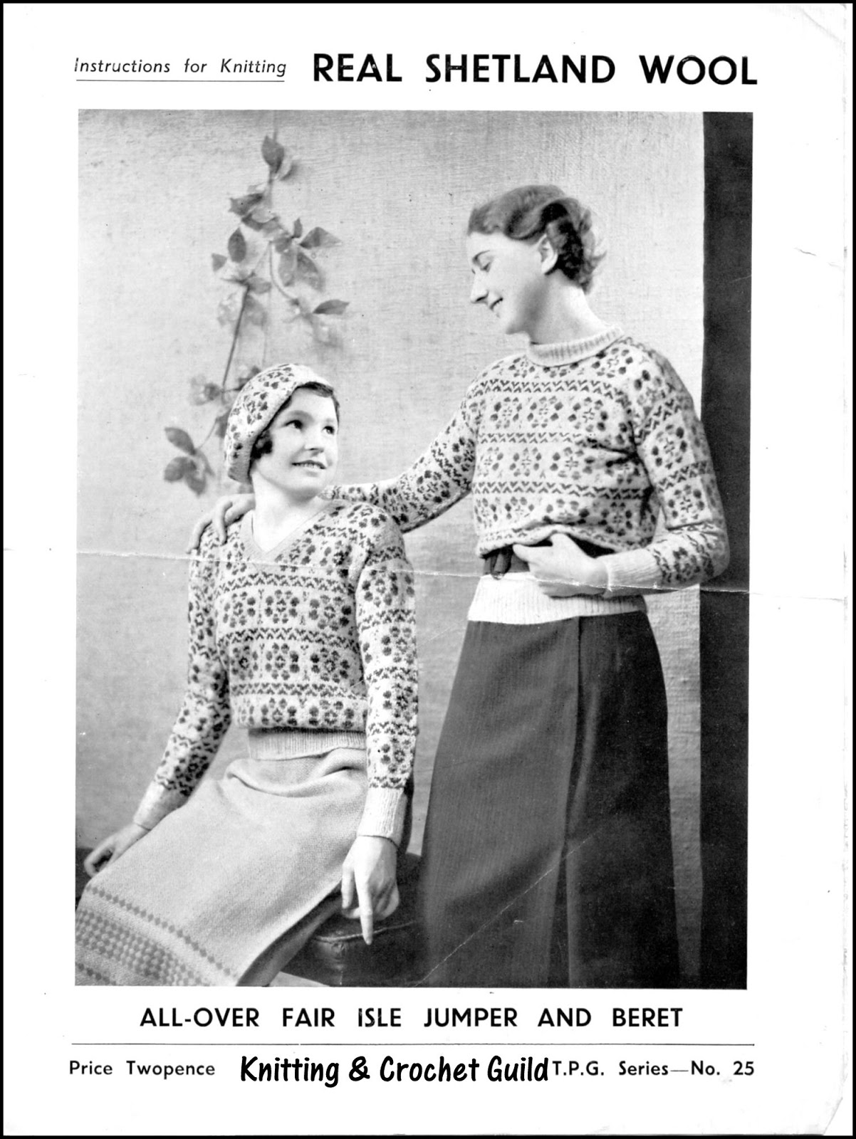 Knitting Now and Then: Shetland Knitting Patterns