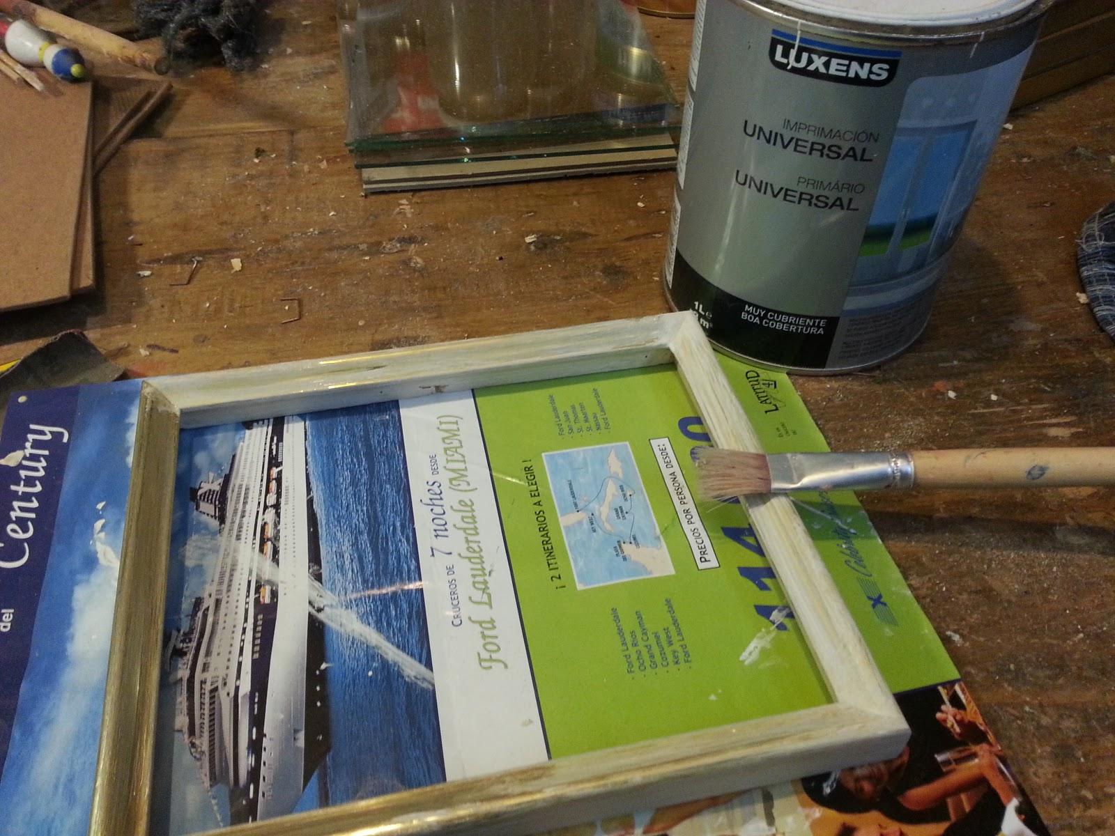Crea construye recicla y restaura: Reciclar cuadros de aluminio ...