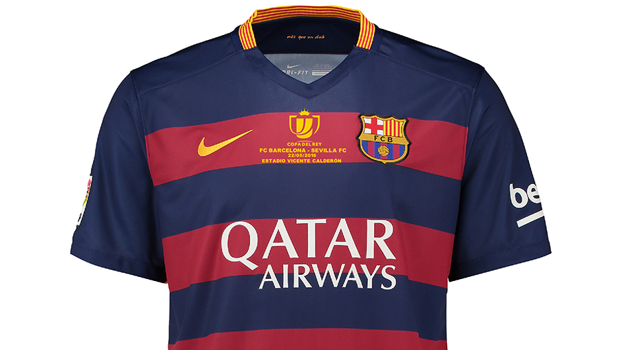 Soccer Jersey and Jersey Font  FC Barcelona Copa del Rey Final ... f3ab32bbd