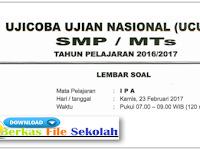 Prediksi Soal UN SMP 2018 Paket A dan PAket B - Berkas File Sekolah