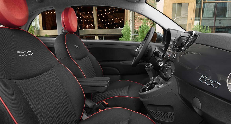 2017 Fiat 500 Pop Interior
