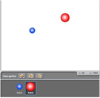 Tutorial Scratch untuk Membuat Animasi Bola Berkejaran Dengan Mouse