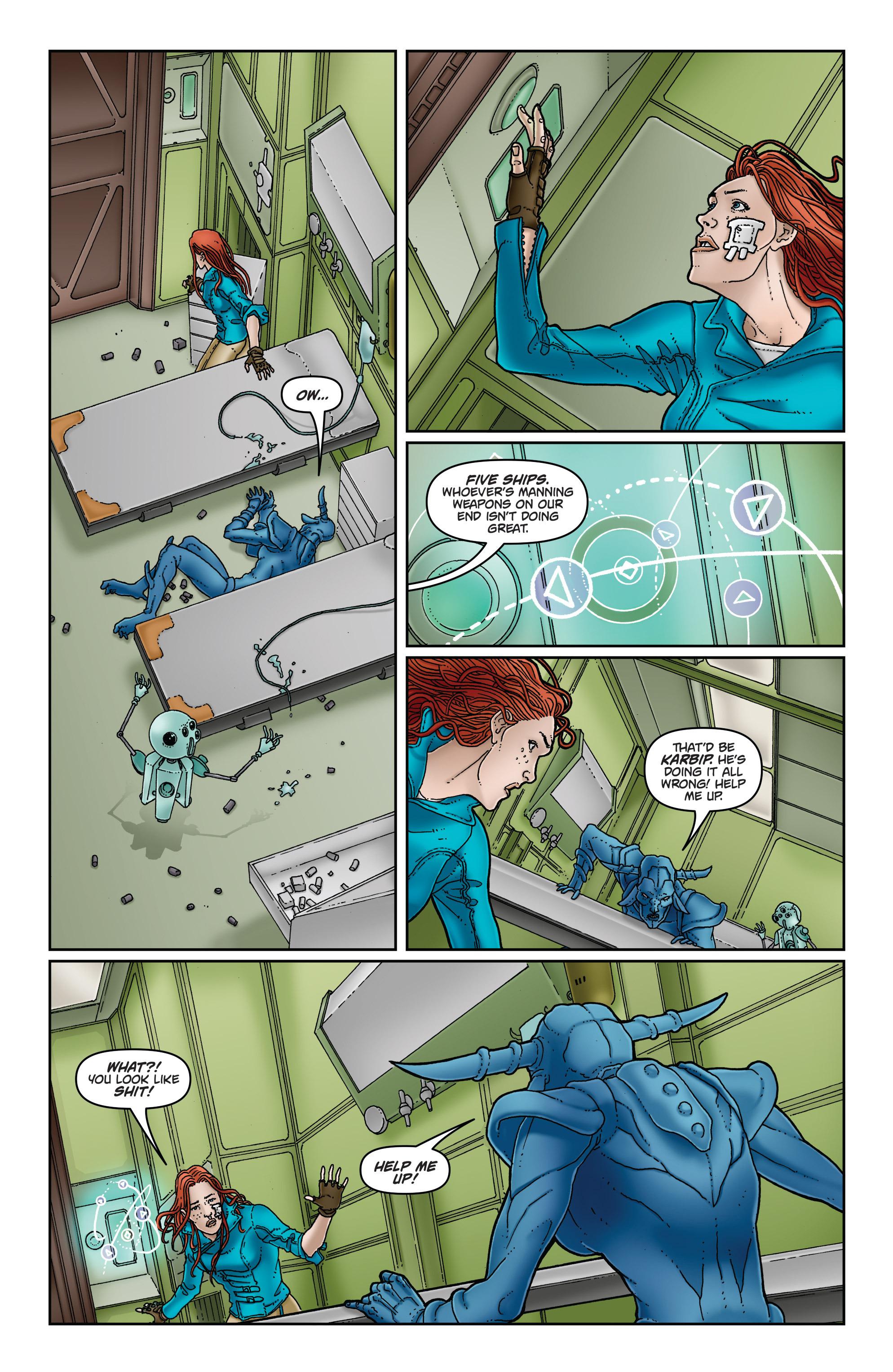 Read online Satellite Falling comic -  Issue #5 - 11