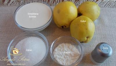 Supa de gutui - etapa 1