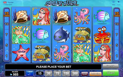 play ocean rush free slot machine