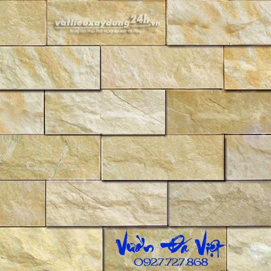 Đá bóc phẳng vàng - BFV 7,5x20