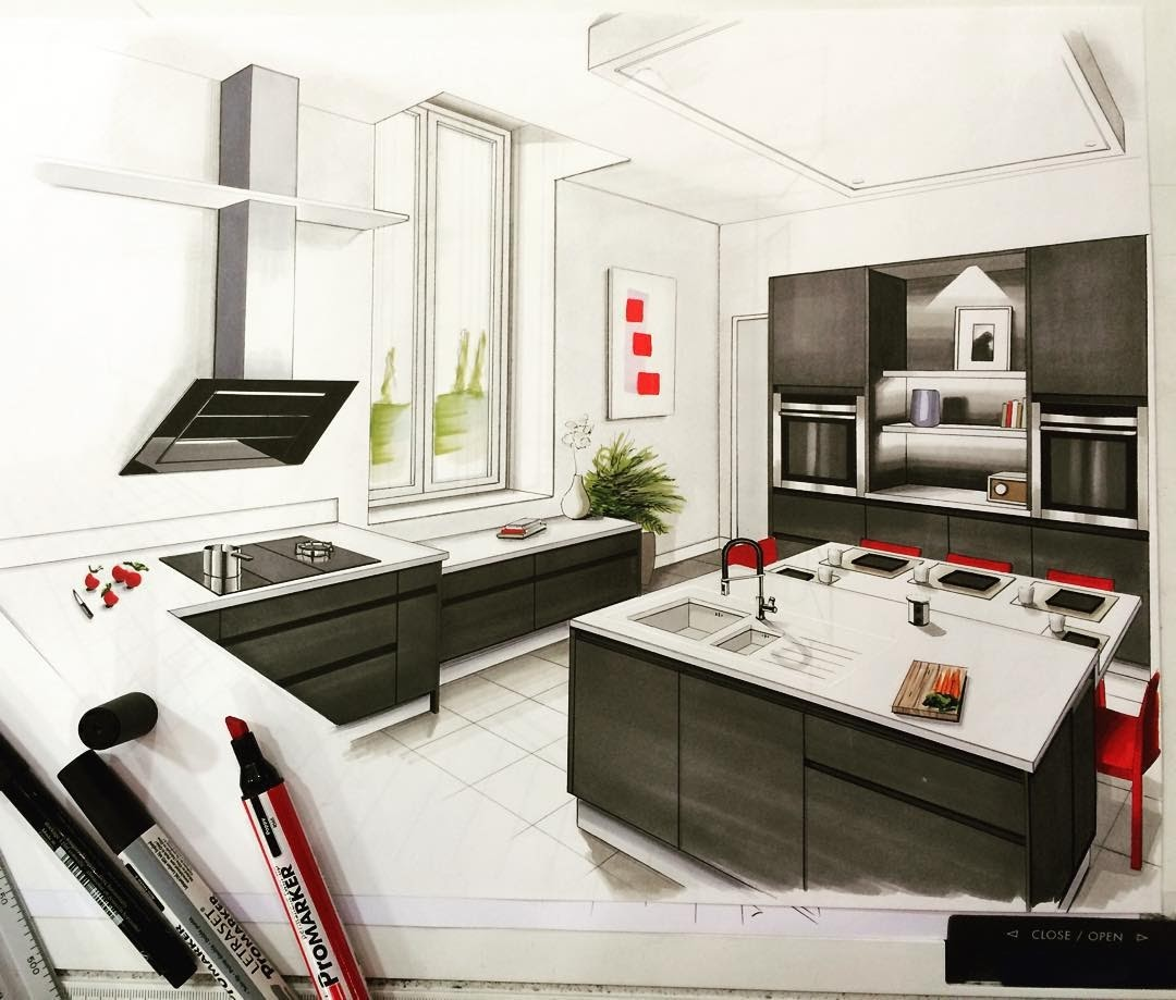 12-Kitchen-Jean-Rémi-Desbrousses-A-Passion-for-Interior-Design-Drawings-www-designstack-co