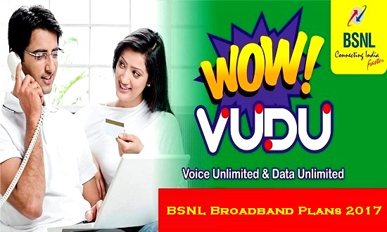 BSNL Broadband Plans 2017 : Latest Limited / Unlimited Home & Business Broadband Tariff Plans
