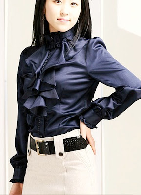 Women's Satin Blouses