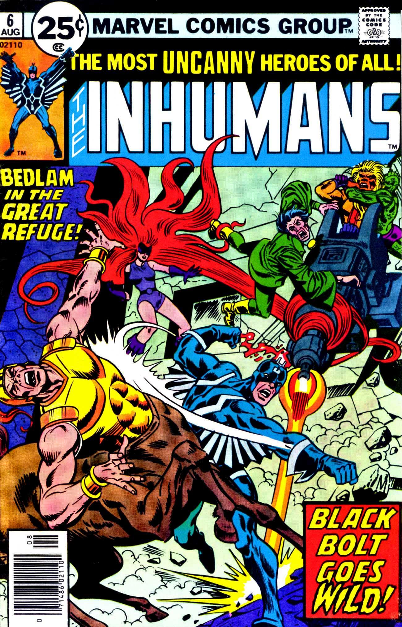 Inhumans (1975) issue 6 - Page 1