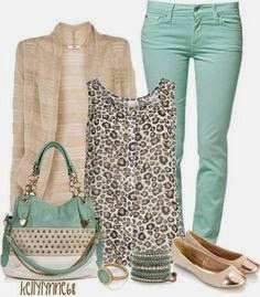 Fashion Spring summer 2014 leopard print top