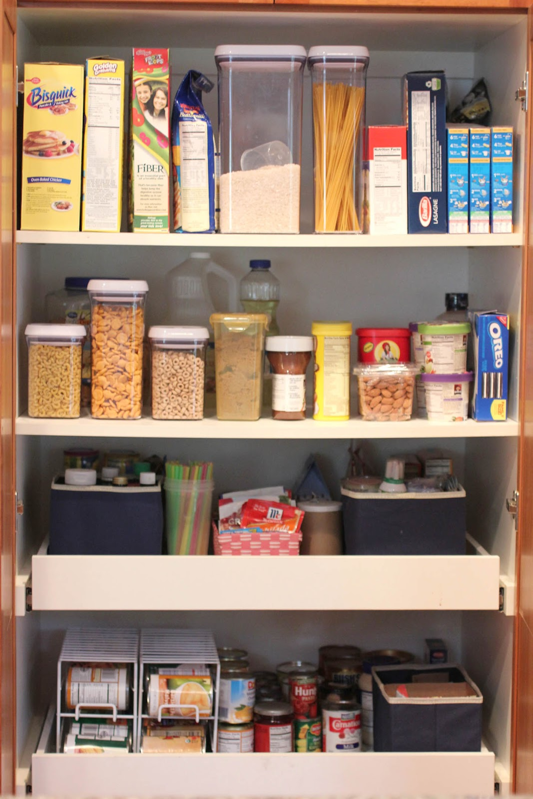 How To Organize A Kitchen Food Pantry