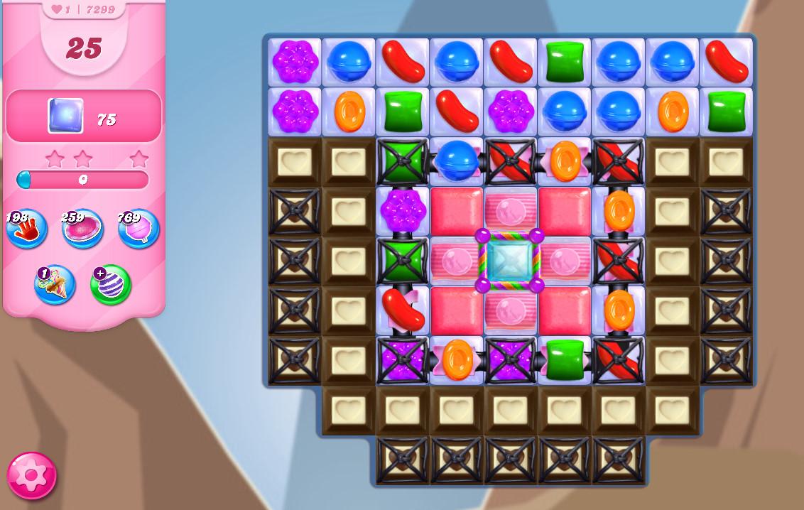 Candy Crush Saga level 7299