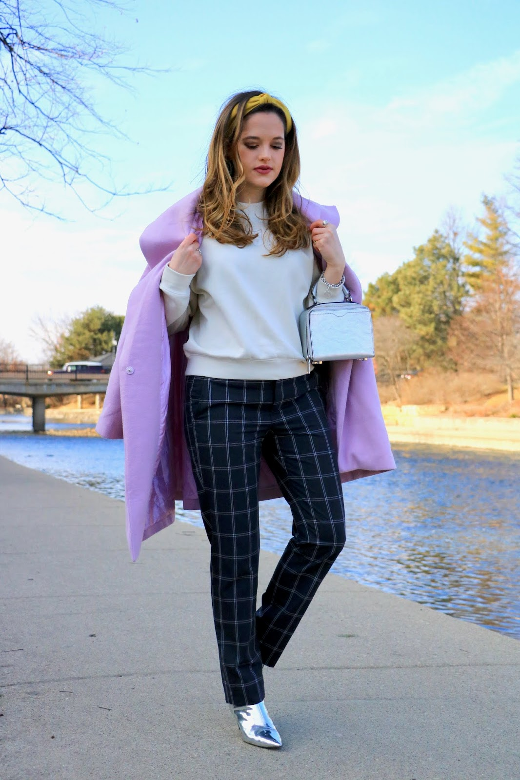 Nyc fashion blogger Kathleen Harper's winter outfit idea for work