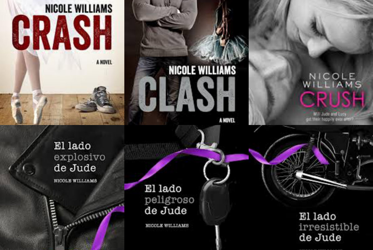 Crash Libro Libros Eternos Saga Crash De Nicole Williams Hijos De Agua