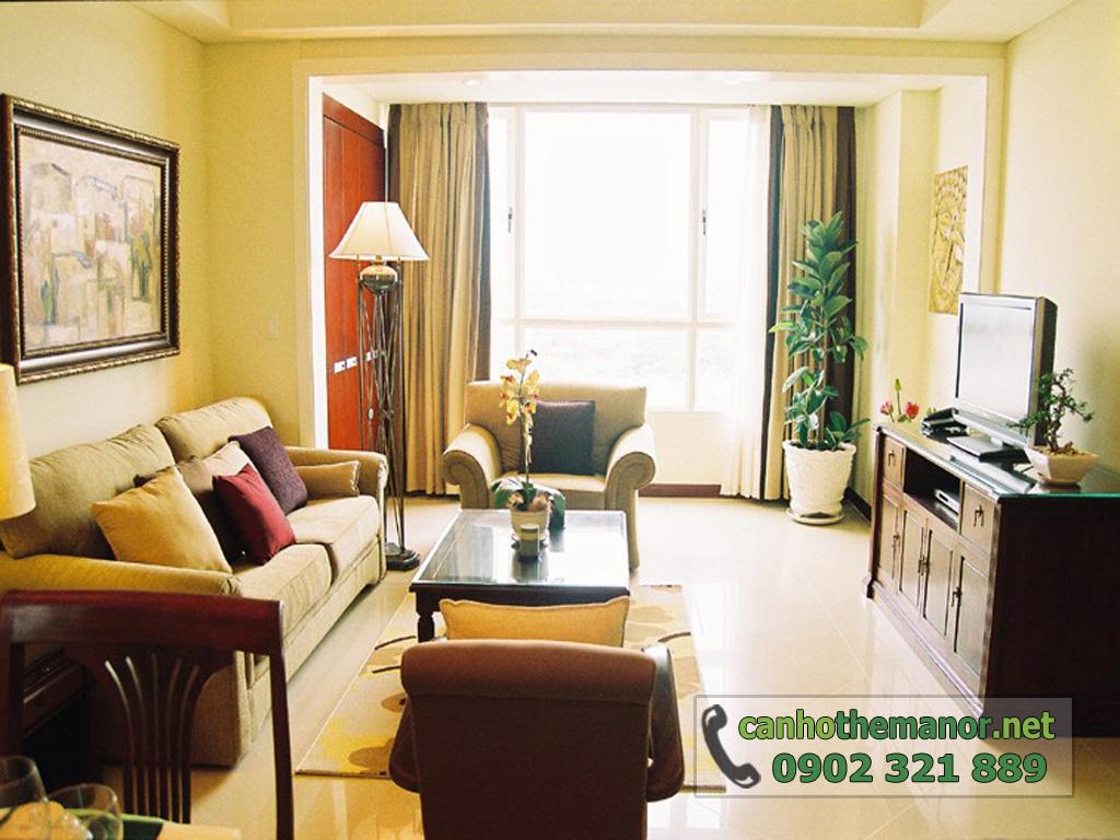 Bán căn hộ The Manor tầng 10 nội thất đẹp 2 phòng ngủ