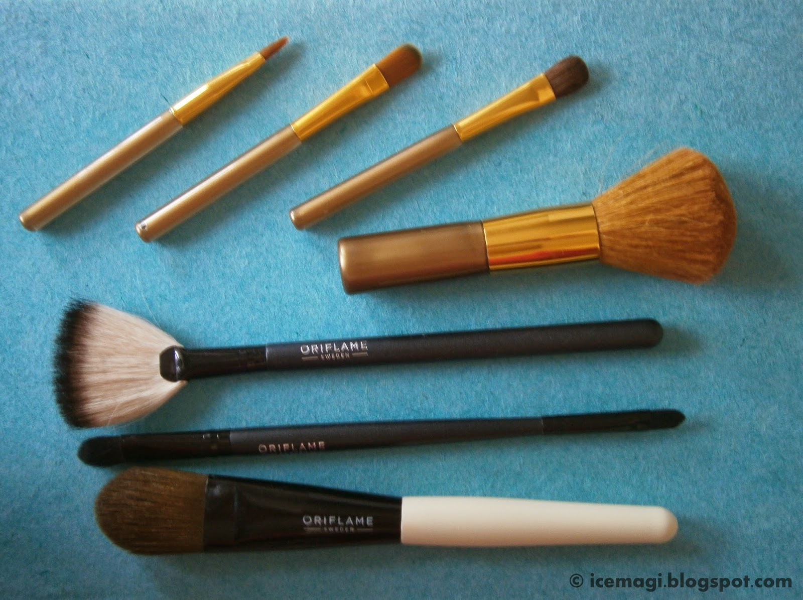 Avon & Oriflame brushes
