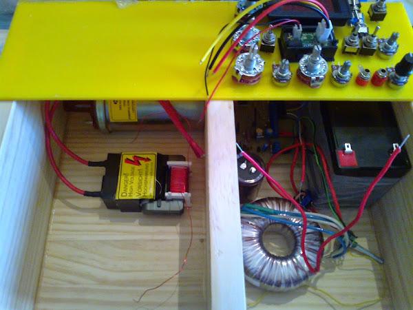 Magnetic Pulse Generator Circuit