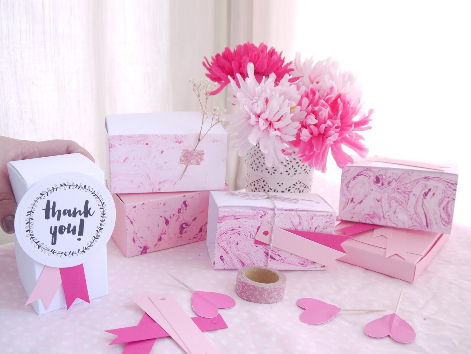 DIY: Una boda con efecto marmolado - Handbox Craft Lovers ...