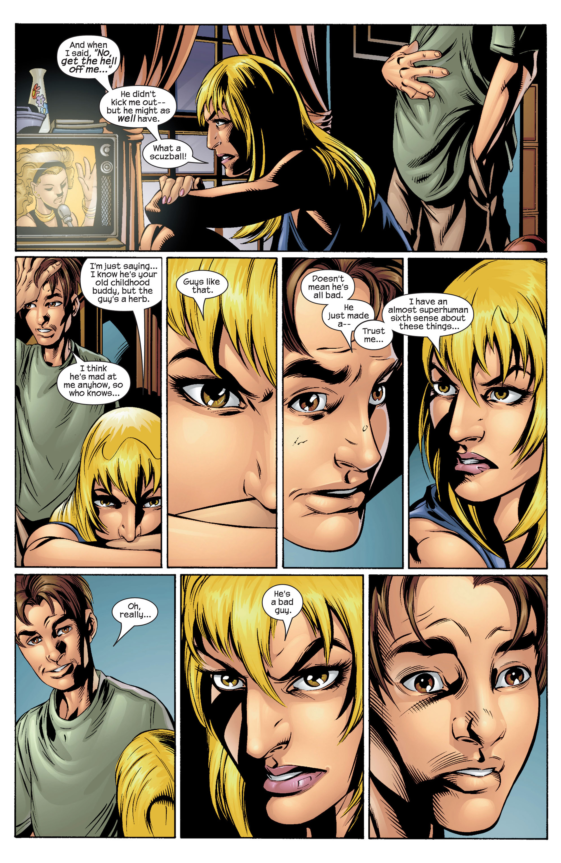 Read online Ultimate Spider-Man (2000) comic -  Issue #36 - 20