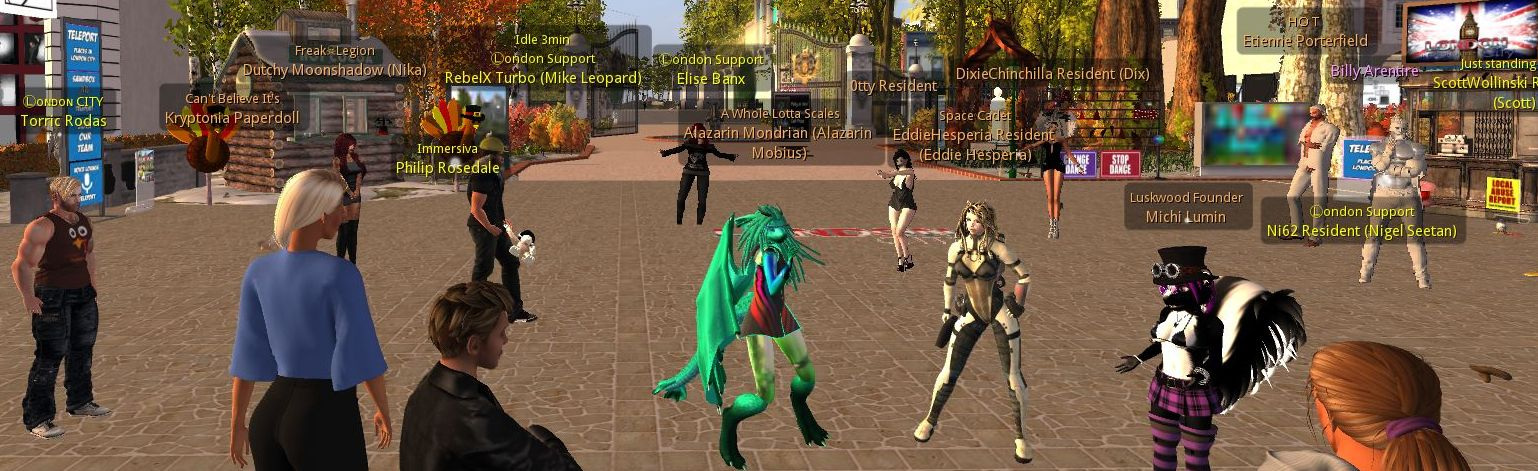 London City: Second Life