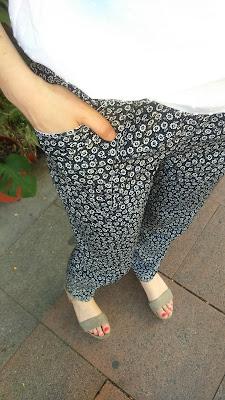 kimono fans de ottobre design revista magazine 2/2016 modistilla de pacotilla plumeti moji pants colette seamwork patterns