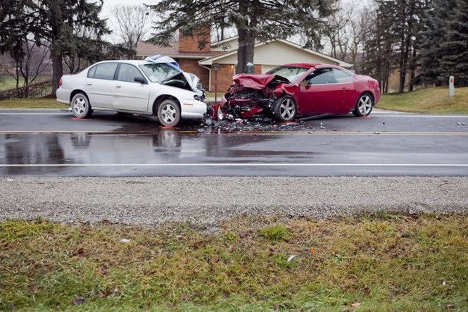 Date 12 22 2017 Time Around 10 00 A M Location Grand Blanc Michigan Vehicle S Involved Chevy Malibu Pontiac G6 Convertible