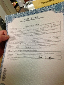 antonio birth certificate san tx