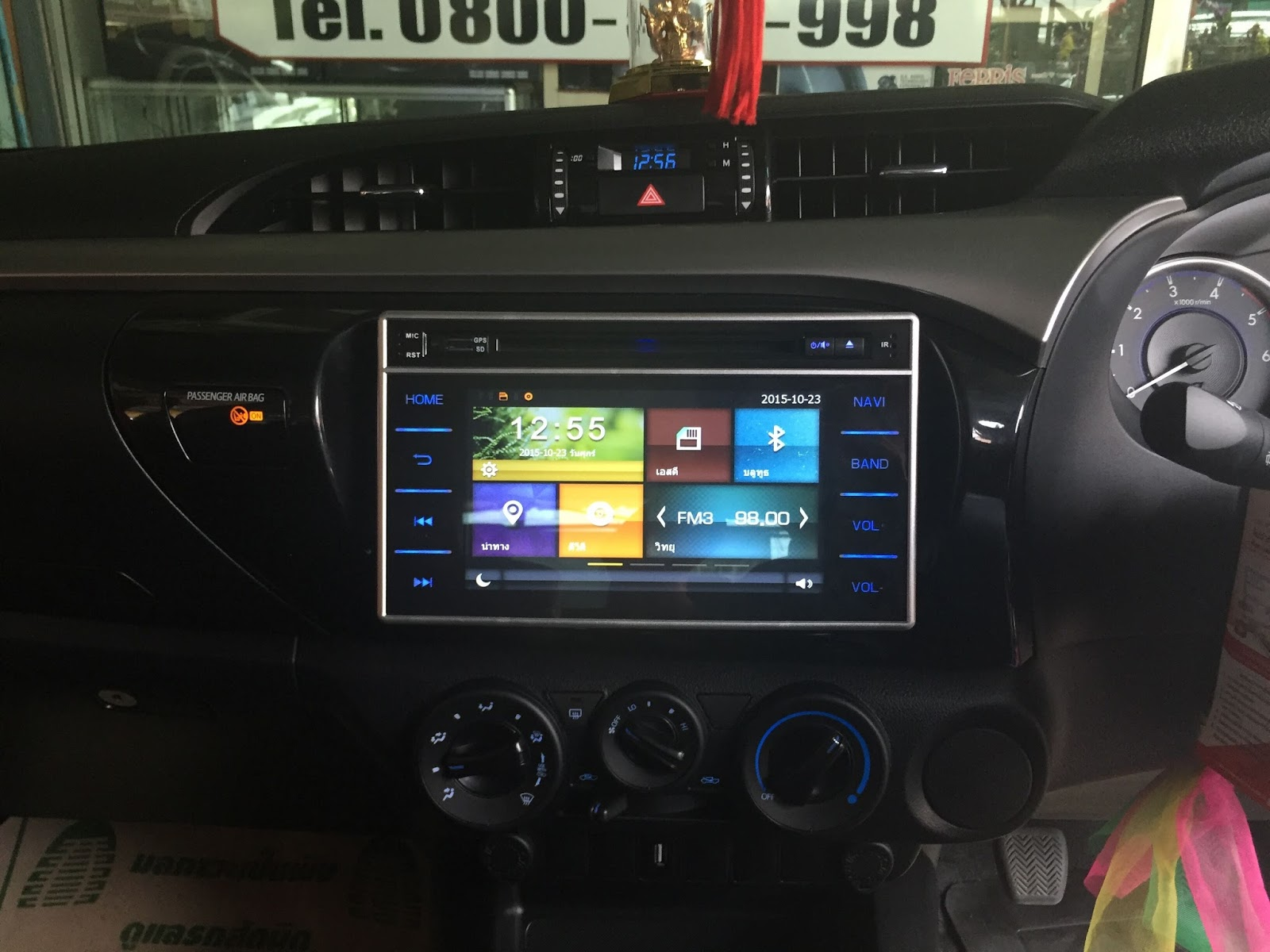 Toyota Hilux Revo 2015 2016 Oem Car Dvd Player With Gps Navigation Wiring Audio Monitor Its Design Well Compatible And Seamless Match Factory Installed By Plug No Need Cut Any Wires