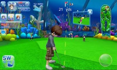 contoh game golf
