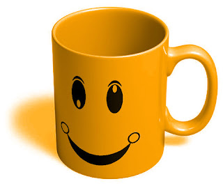 Yellow Smiley Mug