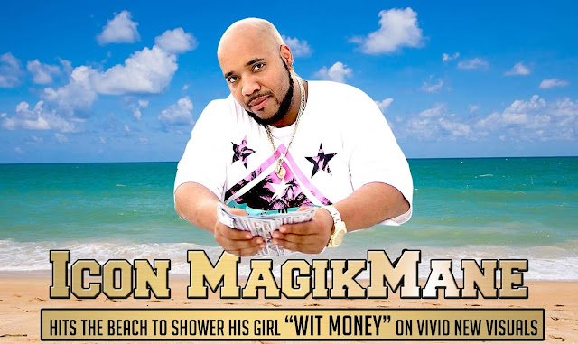 "Icon MagikMane hits the beach to shower his girl ""Wit Money"" on vivid new visuals"