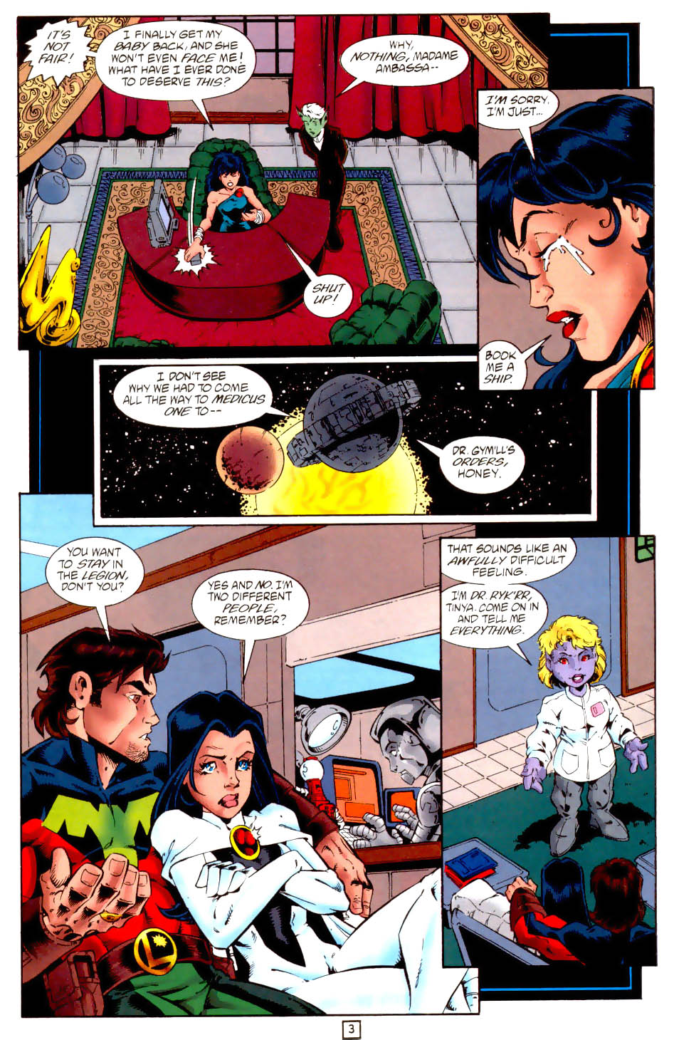 Legion of Super-Heroes (1989) 102 Page 15