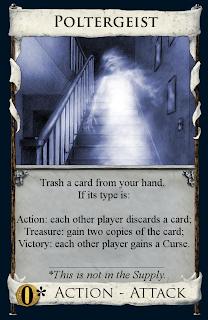 Poltergeist card