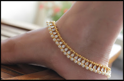anklet After Mehendi Function
