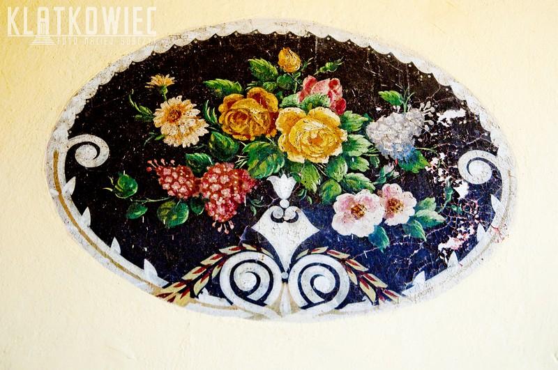 Jawor: malowane kwiaty