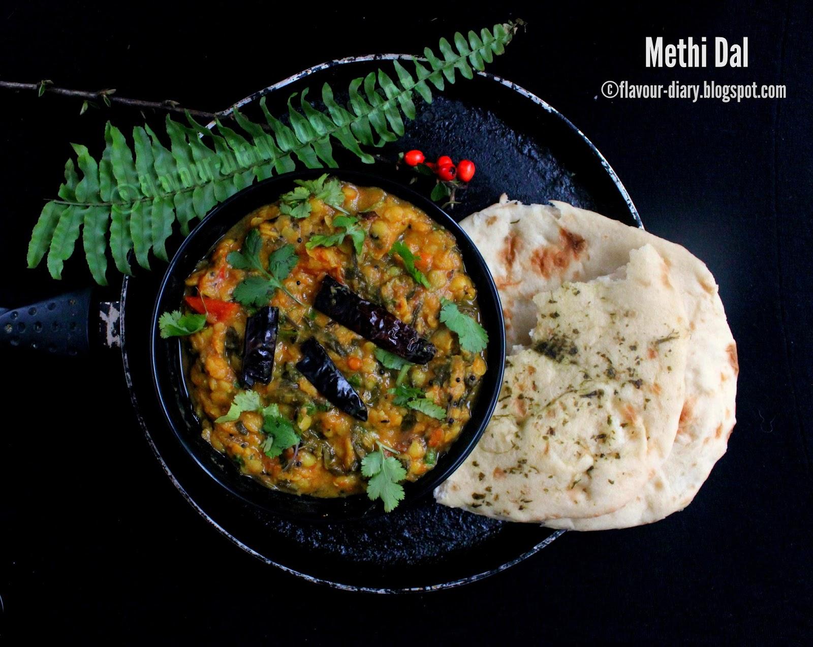 Methi Dal Menthi Kura Pappu recipe