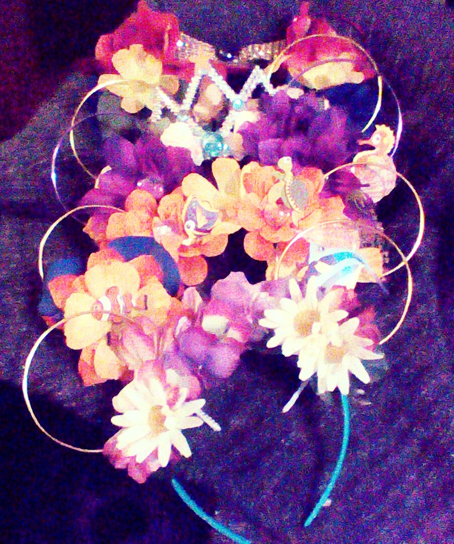 Flower crowns and disney bound disney flower crown wire mouse ears disney princess images ive been seeing online and it seemed to me that it would be something that would translate nicely into wearable mouse ears izmirmasajfo