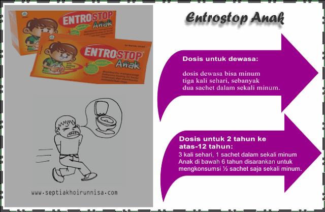Dosis entrostop cair untuk anak dan dewasa