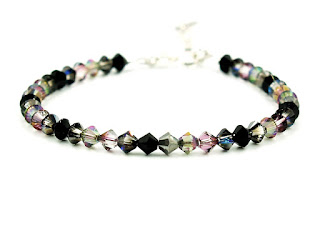 Jewelry Bracelet | Galaxy | Silver Solid 925 | Swarovski® Crystals | Nikolas Jewelry | Greek Handmade