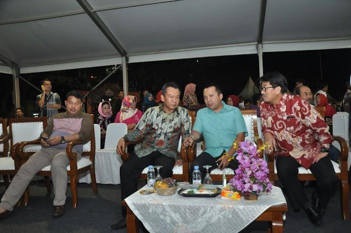 Gubernur Ikut Menyaksikan Malam Puncak Lampung Krakatau Festival