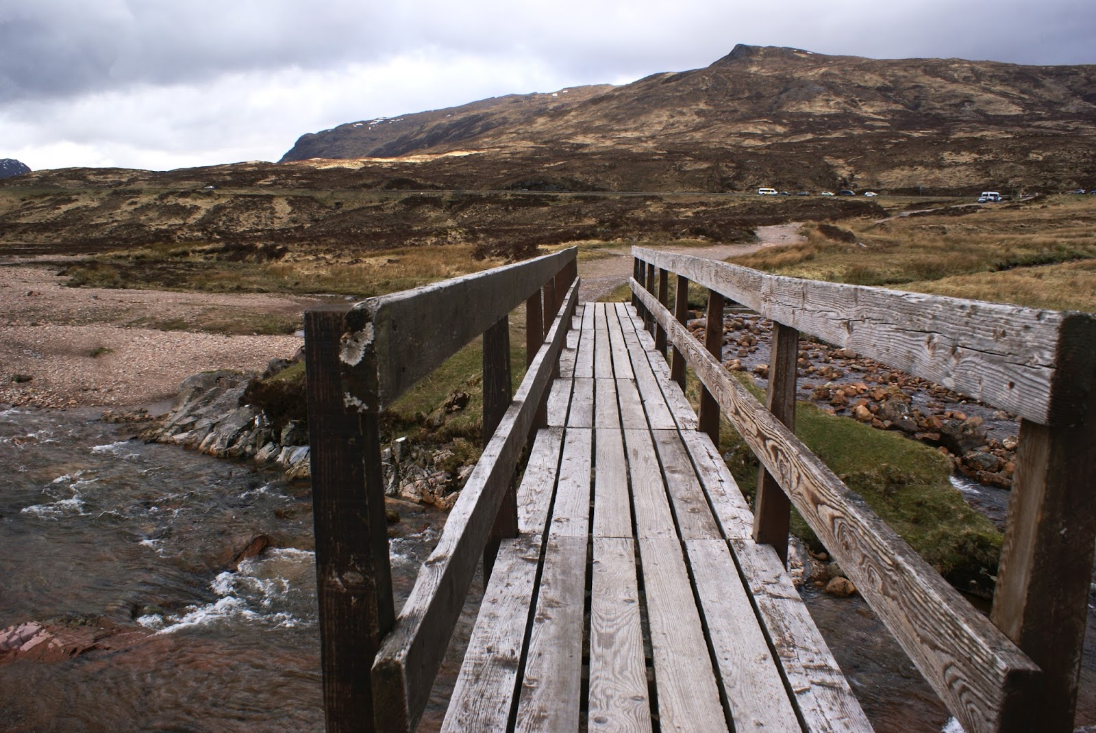 glen coe highlands bridge Altnafeadh scotland united kingdom uk