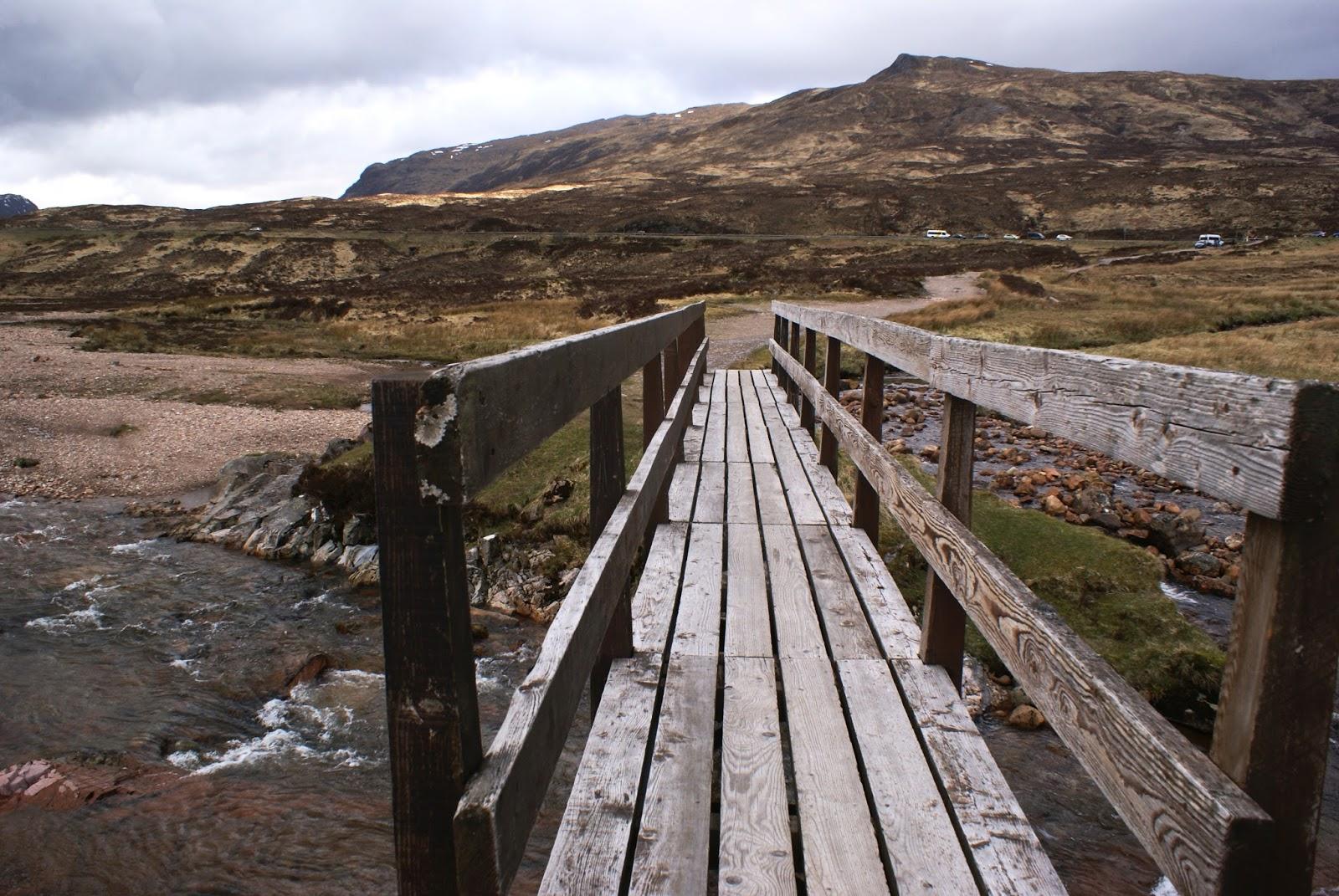 glen coe highlands bridge Altnafeadh scotland united kingdom uk