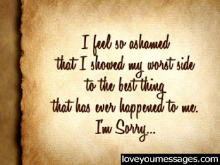 apology messages